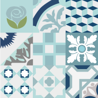 mosaico-collage-azul
